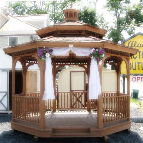 Wedding Gazebo Decorating Ideas   Romantic Decoration