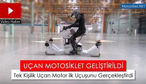 iste karsinizda duenyanin ilk ucan motosikleti hoversurf