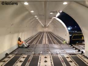 Below Floor Cargo Management System Flying In Cargo Class The Anatomy Of An Air Freighter