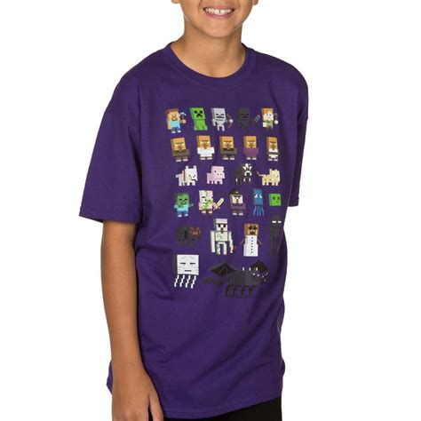 Where To Get Shirts Get Your Pixel Fix With Minecraft Sprites Youth T Shirt