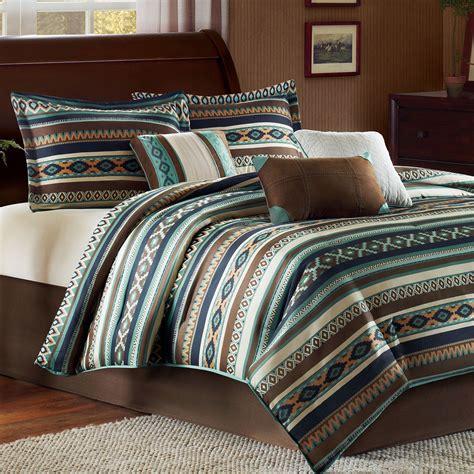 harley 7 pc southwest comforter bed set