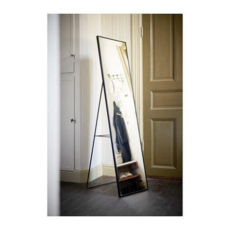 ikea floor mirror karmsund standing mirror black 40x167 cm ikea