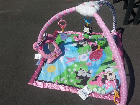 reduced minnie mouse tummy time play mat oak bay
