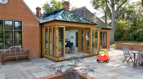modern kitchen conservatory town country conservatories