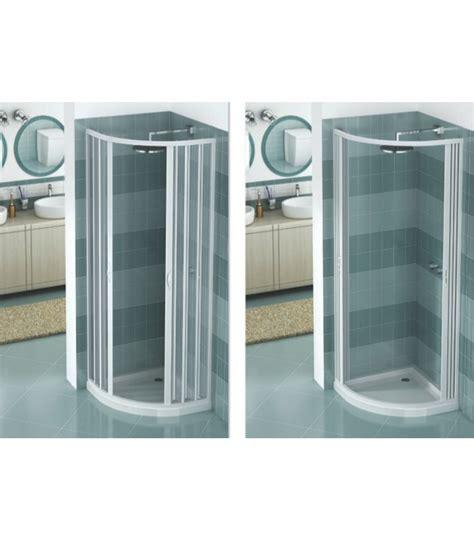 box doccia estensibile box doccia estensibile in pvc semicircolare 2 ante con