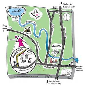 map and directions and s vintage wedding