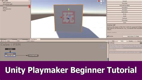 tutorial for unity unity playmaker tutorial for beginners youtube
