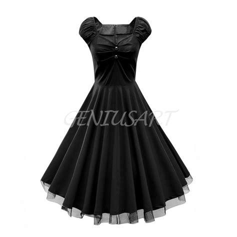 abbigliamento swing abito vestiti donna vintage swing abito da ballo cotone