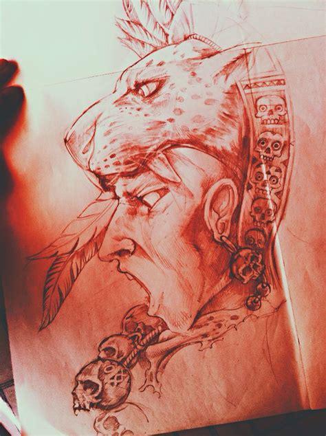 imagenes tatuajes jaguar guerrero jaguar mi arte prehisp 193 nico pinterest
