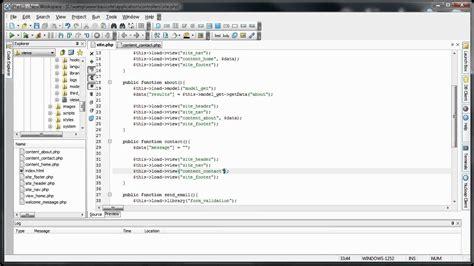 codeigniter tutorial library codeigniter tutorials basic website form validation