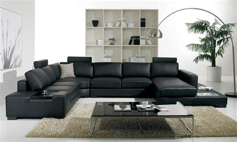 decorate living room with black furniture room