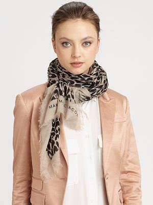 Marc By Marc Cheap Chic Marc By Marc Totes by Marc By Marc Animal Print Scarf Saved By Chic N