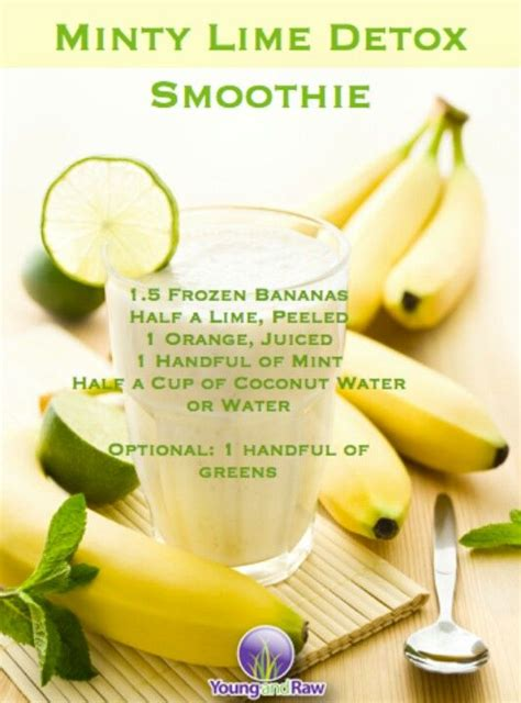 Mint Detox Smoothie by Discover And Save Creative Ideas