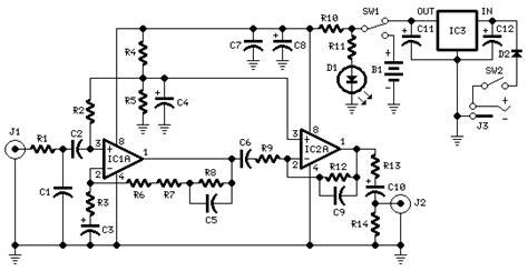 Tone Kontrol Stereo Bifet Jrc4558 Midrange portable phono prelifier page160