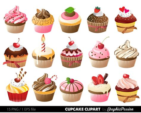 free cupcake clipart cupcakes clipart digital cupcake clip cupcake digital