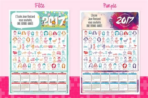 Calendrier Ephemeride 2017 Calendrier Dessins D Enfants 2017 233 Ph 233 M 233 Ride Imprim 233 E