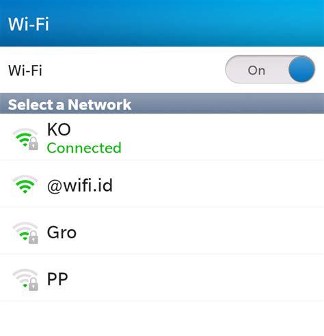 Wifi Berjalan nisura masalah wifi di z10