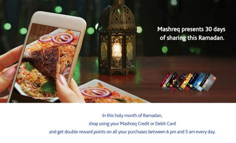mashreq bank credit card payment featured ramadan offers abu dhabi information portal