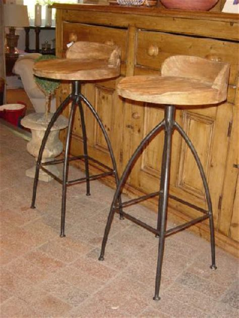 bar benches for sale carved wood and iron bar stools crt9604 for sale