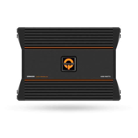 capacitor quantum audio quantum audio qrm4000 4000 w monoblock class d car lifier ebay