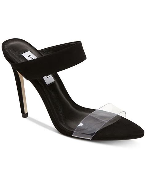 Steve Madden Amaya Heel by Steve Madden Amaya Vinyl Sandals Sandals Flip Flops Shoes Macy S