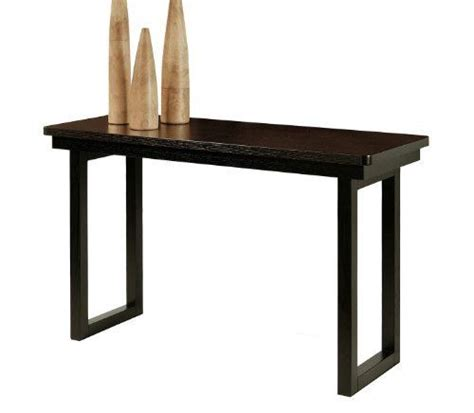 50 inch high table abbyson living fairhaven espresso sofa table by abbyson