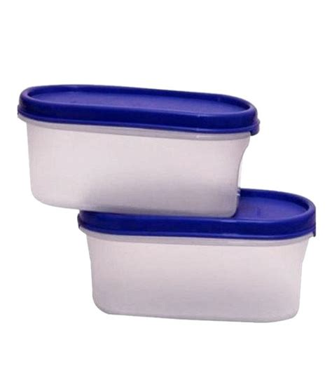 Tupperware Modular Mates Oval 1 2 tupperware modular mates oval 1 500ml plastic containers 1pc tupperware modular mates oval 1