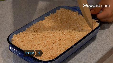 how to make rice krispie treats youtube