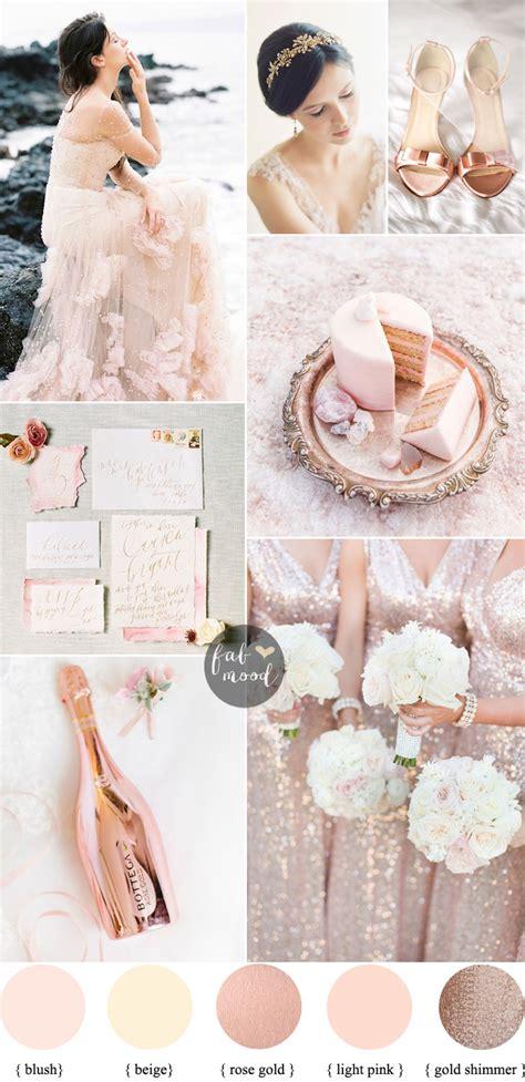 blush wedding theme 36 pretty blush color