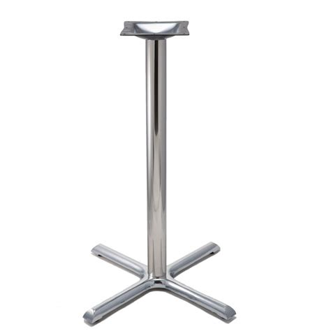 b30 chrome table base bar height 40 1 2 quot tablebases