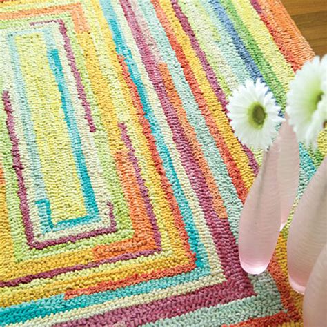Childrens Rug by Concentric Squares Rug And Nursery Necessities In Interior
