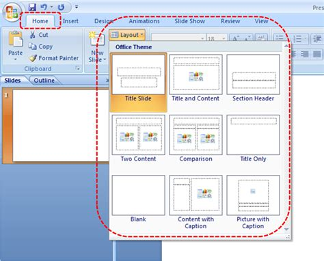 section header layout powerpoint 2010 the officebites blog how to change a slide layout in