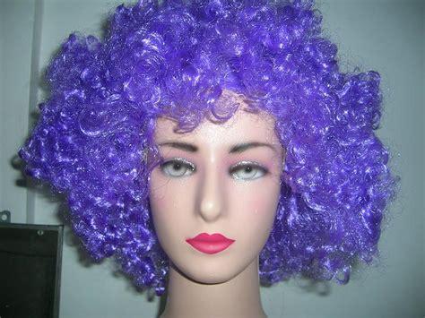 Wig Donald Pesta Kostum Rambut Palsu Pirang jual rambut palsu wig kribo warna me jimbaran bali