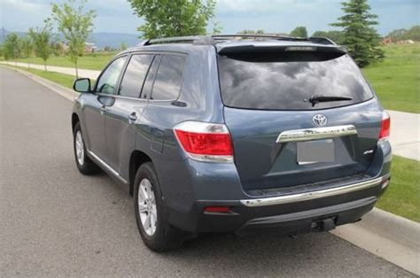 2013 Toyota Highlander Se V6 Sell Used 2013 Toyota Highlander Se V6 4wd Suv Shoreline