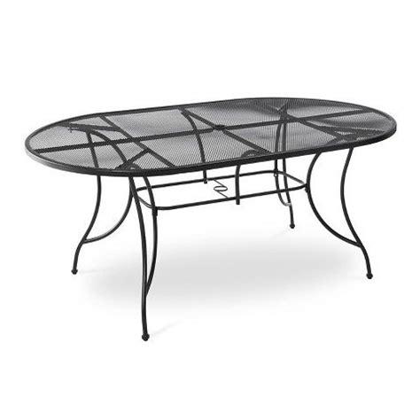 wrought iron patio table rectangular hamlake wrought iron rectangular patio dining table