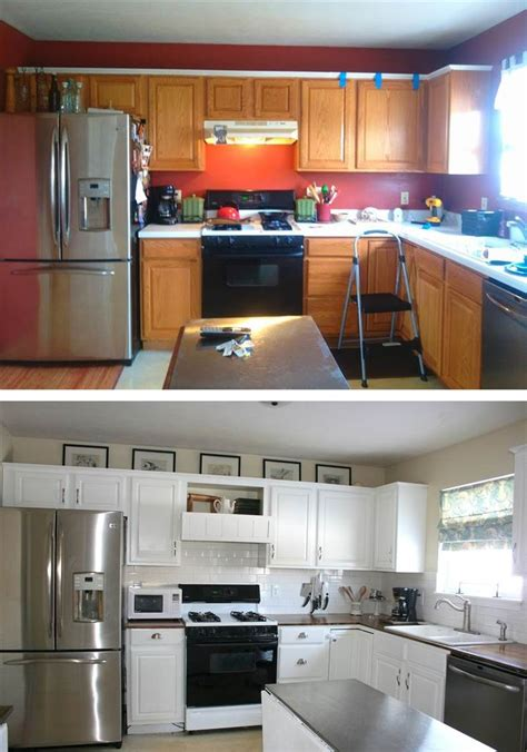 cheap kitchen makeover ideas before and after best 25 cheap kitchen makeover ideas on cheap