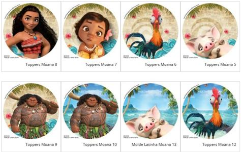 Topper Moana 01 259 best images about moana disney printables on