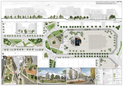 Landscape Architecture Competitions Competition Of The Quot Agia Sofia Acheiropoeitos Quot Axis In