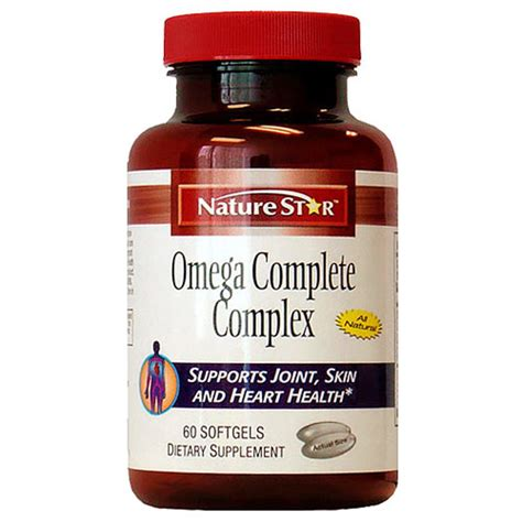 Natures Health Dha Complex Isi 60 omega complete complex 60 softgels naturestar day of