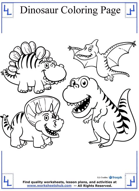 dinosaur coloring sheets dinosaur coloring pages