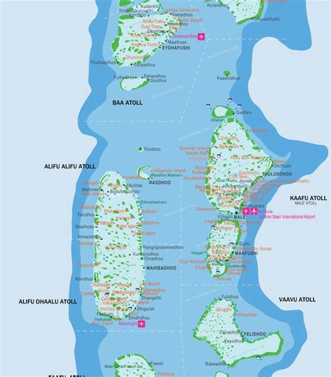 maldives islands map vacation   reiseziele