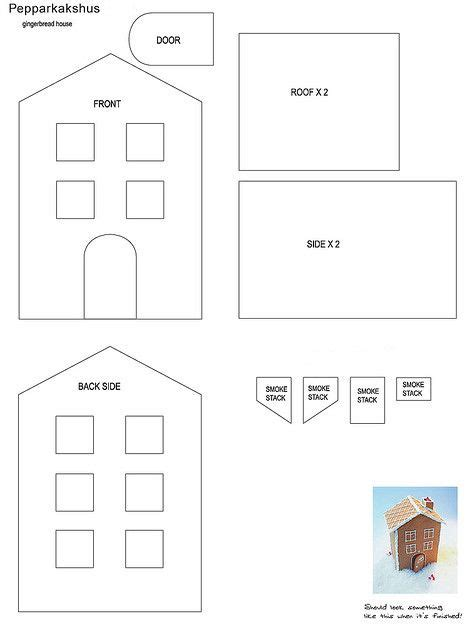 gingerbread castle template 25 b 228 sta id 233 erna om gingerbread house template p 229