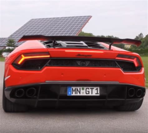 Lamborghini Exhaust Sound Novitec Torado Lamborghini Huracan Rear Wheel Drive