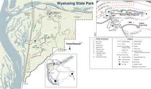 Wyalusing State Park Map by Wyalusing State Park Joe And Adrianne S Wedding