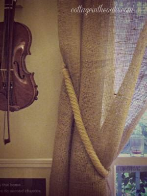 easy burlap curtains make your own classroom curtains from burlap and ribbon