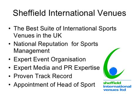 Mba Sports Management In Uk by 2 Sheffield Intvenues Important