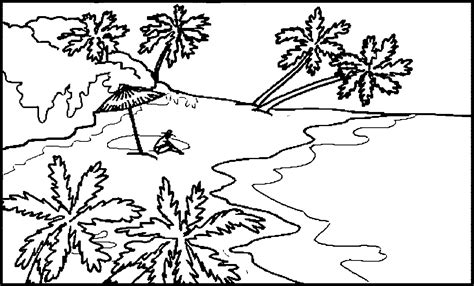 Landscape Coloring Pages Coloring Home Coloring Pages Landscape