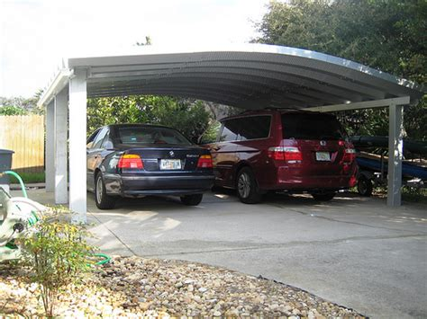 2 Car Car Port by Steelmaster Metal Two Car Carport Flickr Photo