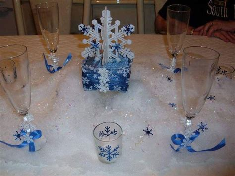winter snowflake centerpieces 35 innovative winter table decorations table decorating