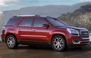 Buick Jeep The New Passenger Crossover Jeep Gmc Acadia 2013